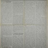 La Serbie (28.05.1916)
