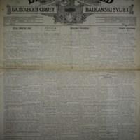 Балкански свијет (26.07.1917)